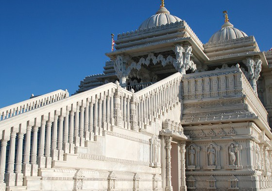 Indian Temple in Toronto, Canada