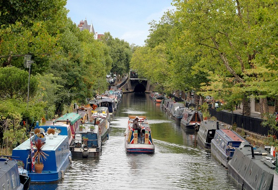 Canal Boats, Little Venice