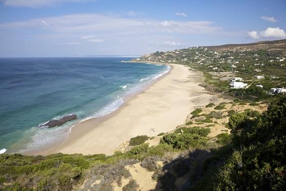 German beach next to Zahara de los Atunes