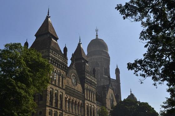 Colonial architecture Elphinstone College, Mumbai, India